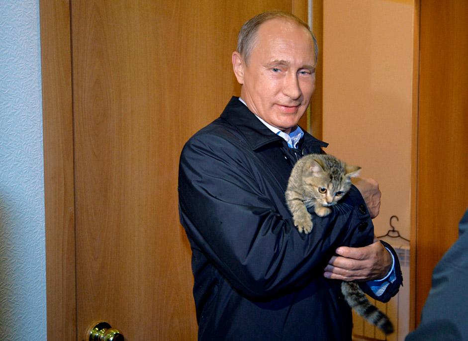 Путин и новоселье.